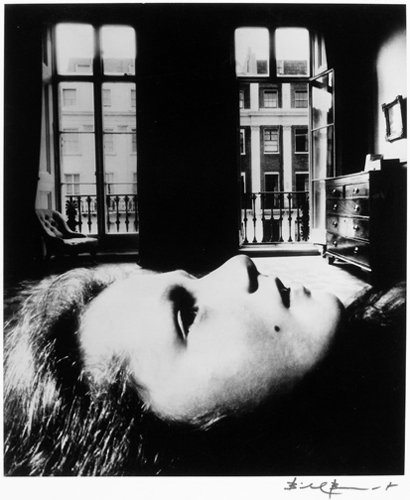 Bill Brandt, Girl Reclining at Eaton Place, 1955