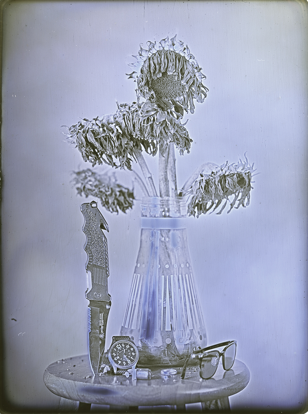 Daniel Carrillo, Personal Items, 2013, daguerreotype, 5.5 x 4.25 inches, $1200.