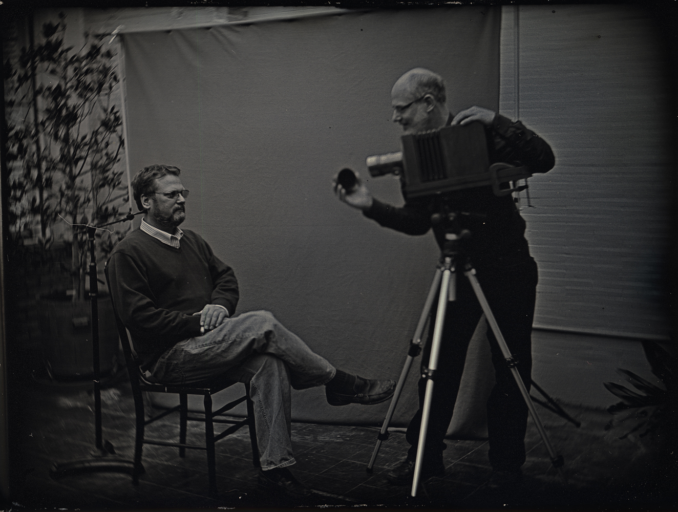 Daniel Carrillo, Mike Robinson and Mark Osterman, 2012, daguerreotype, 3.25 x 4.25 inches, $1800