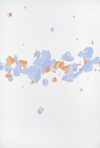 Blake Haygood, Might Be Time To Reconsider, 2010, 44 x 30 inches, framed, $2,500.