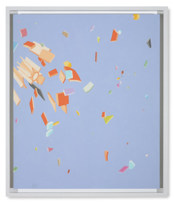 Blake Haygood, Just Blowback, 2013, 25.75 x 21.75 inches, (On Hold)