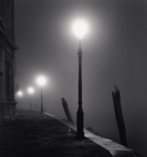 Michael Kenna, Four Lamps, Fondamenta Zattere, Venice, Italy, 2007