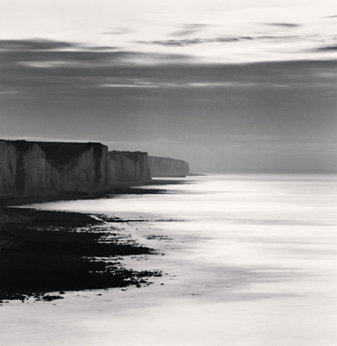 Michael Kenna, Ault Cliffs, Study 1, Picardy, France, 2009