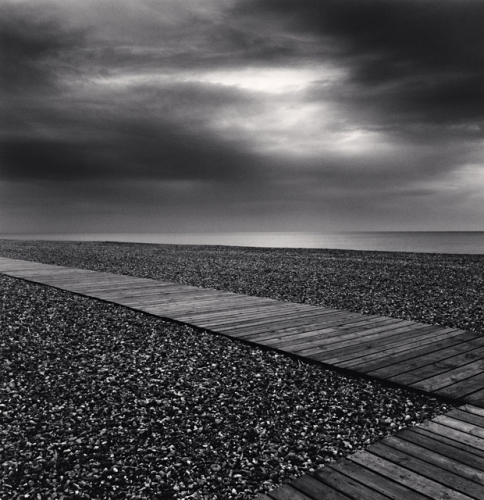 Michael Kenna, Beach Walk, Cayeaux sur Mer, Picardy, France, 2009