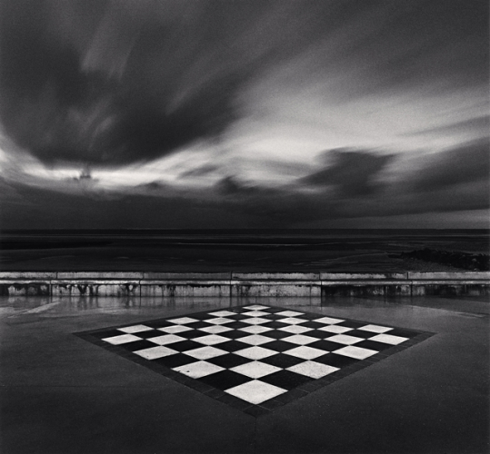 Michael Kenna, Chess Board, Wimereux, France, 2000