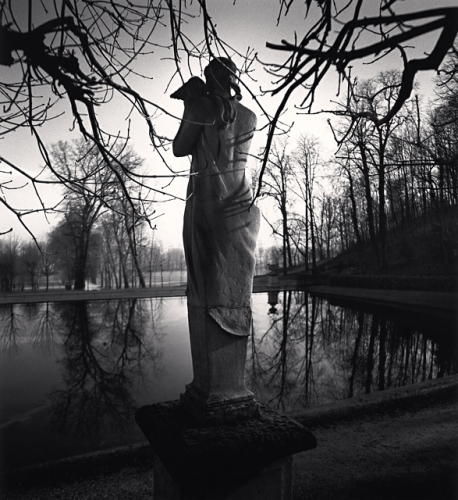 Michael Kenna, Contemplation, Saint Cloud, France, 1996