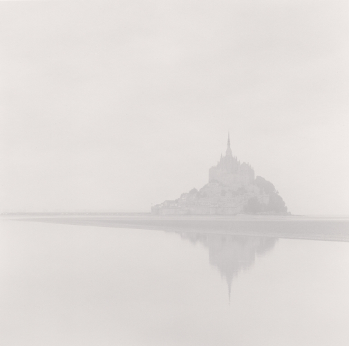 Michael Kenna, Dawn Mist, Mont St. Michel, France. 1994