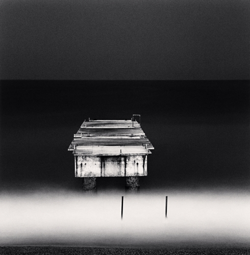 Michael Kenna, Disconnected Dock, Nice, Alpes-Maritimes, France, 1997