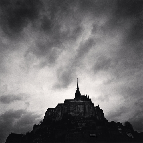 Michael Kenna, Eglise Abbatiale, Mont St. Michel, France, 1998