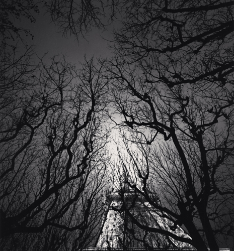 Michael Kenna, Eiffel Tower, Study 2, Paris, France, 1987