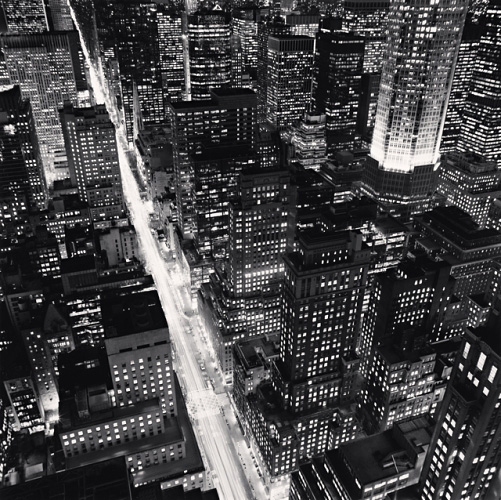 Michael Kenna, Fifth Avenue, New York City, USA, 2006