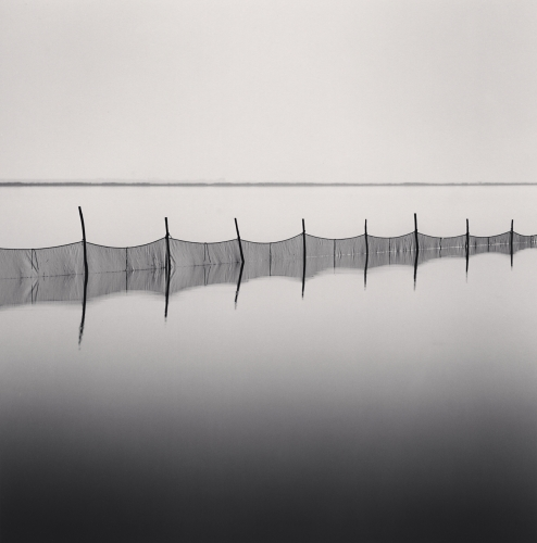 Michael Kenna, Fishing Nets, Smarlacca, Veneto, Italy. 2006