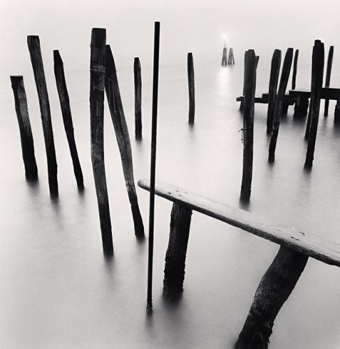 Michael Kenna, Fondamenta Nuove Poles, Venice, Italy, 2006