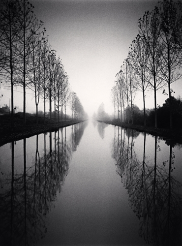 Michael Kenna, French Canal, Study 2, Loir-Et-Cher, France, 1993