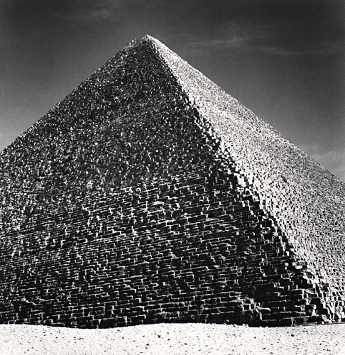 Michael Kenna, Giza Pyramids, Study 1, Cairo, Egypt, 2009