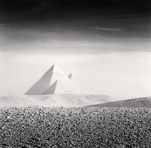 Michael Kenna, Giza Pyramids, Study 3, Cairo, Egypt, 2009
