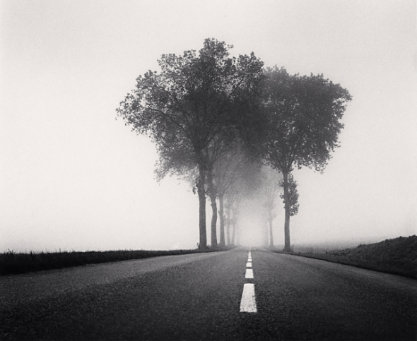 Michael Kenna, Homage to HCB, Study 2, Bretagne, France, 1993