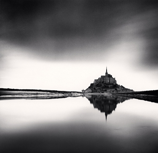 Michael Kenna, Midday Prayer, Mont St. Michel, France, 2004