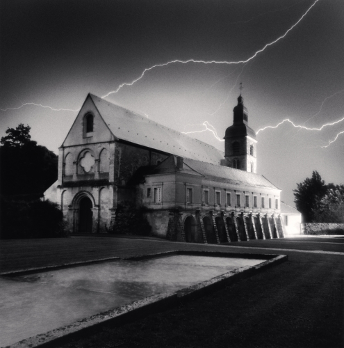 Michael Kenna, Night Storm, Hautvillers, France. 2001