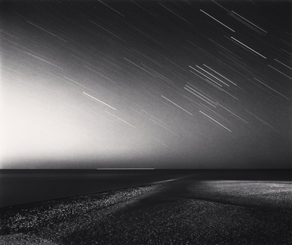 Michael Kenna, Night Exposure, Berck Plage, Normandy, France, 2003