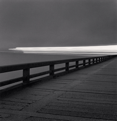 Michael Kenna, Night Ferry Departure, Calais, Pas-de-Calais, France, 2000