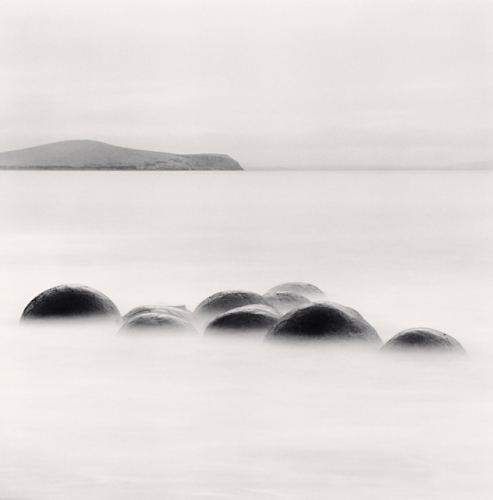Michael Kenna, Nine Concretions, Koekohe Beach, Moeraki, New Zealand. 2013