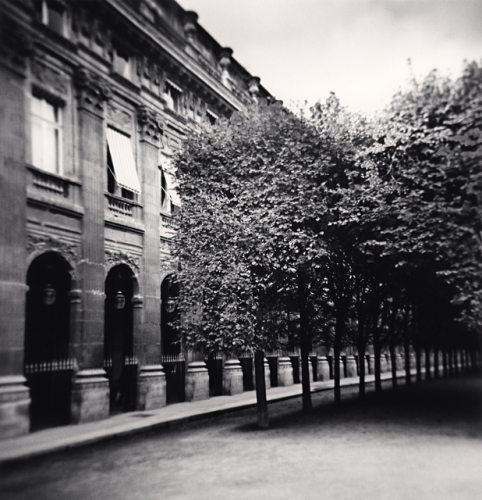 Michael Kenna, Palais Royal, Study 2, Paris, France, 2011
