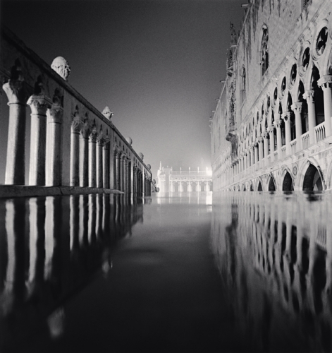 Michael Kenna, Palazzo Ducale Reflection, Venice, Italy, 1987