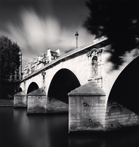 Michael Kenna, Pont Marie, Paris, France, 2007
