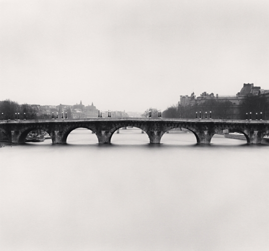 Michael Kenna, Pont Neuf, Study 2, Paris, France, 1992