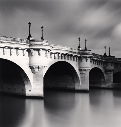 Michael Kenna, Pont Neuf, Study 3, Paris, France, 2011