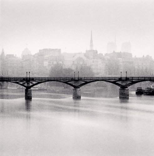 Michael Kenna, Pont des Arts, Study 3, Paris, France. 1987
