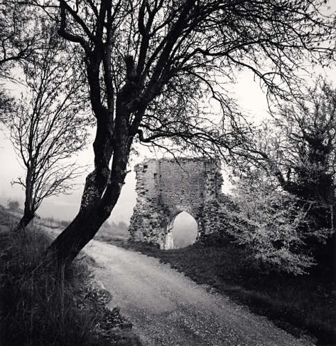 Michael Kenna, Porte de l'Orient, Bargème, France, 1997