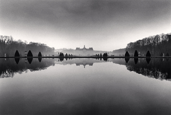 Michael Kenna, Reflection, Study 1, Vaux le Vicomte, France, 1988
