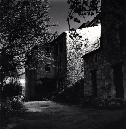 Michael Kenna, Rue de l'Amitie, Bargeme, France, 2011