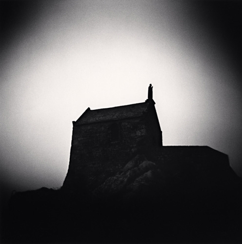 Michael Kenna, Saint Aubert Chapel, Mont St. Michel, France, 2004