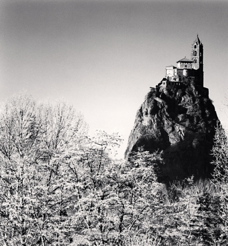 Michael Kenna, Saint-Michel d'Aiguilhe, Le Puy-en-Velay, Auvergne, France. 2013