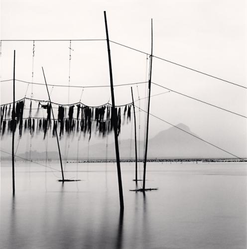 Michael Kenna, Seaweed Farms, Study 1, Xiapu, China, 2010