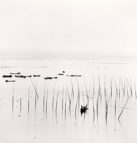 Michael Kenna, Seaweed Farms, Study 2, Xiapu, China, 2010