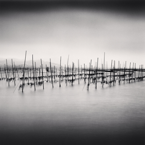 Michael Kenna, Seaweed Farms, Study 4, Xiapu, China, 2010