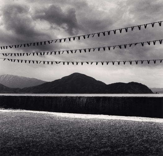 Michael Kenna, Seaweed Pegs, Sugahama, Honshu, Japan. 2002