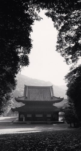 Michael Kenna, Sennyuji Temple, Kyoto, Japan. 2001
