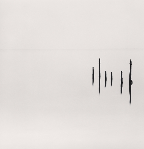 Michael Kenna, Six Sticks, Omi, Honshu, Japan. 2003