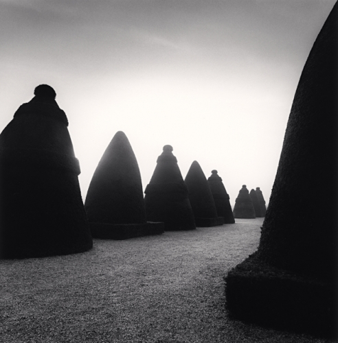 Michael Kenna, Terrace, Saint Cloud, France, 1999
