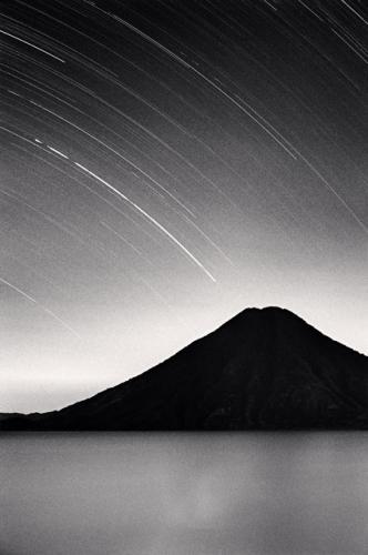 Michael Kenna, Toliman Volcano, Lake Atitlan, Guatemala, 2003