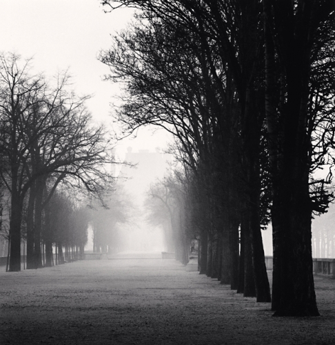Michael Kenna, Tuileries Gardens, Study 2, Paris, France, 1987