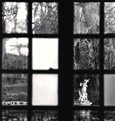 Michael Kenna, Window View, Château d'Haroué, Lorraine, France, 2013
