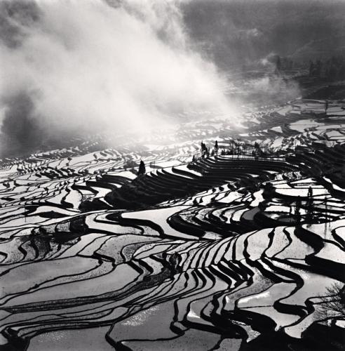 Michael Kenna, Yuanyang, Study 4, Yunnan, China, 2013