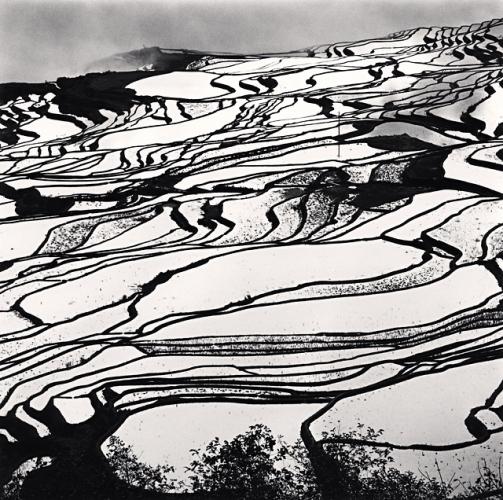 Michael Kenna, Yuanyang, Study 2, Yunnan, China, 2013