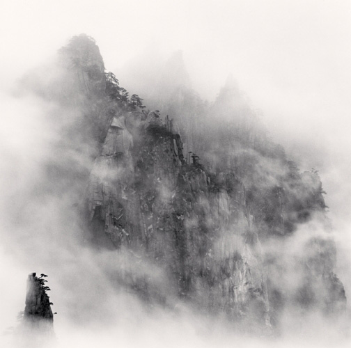 Michael Kenna, Huangshan Mountains, Study 1, Anhui, China, 2008